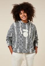 10Days hoodie snake Light sand 20-806-1203 10Days