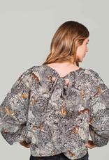 Summum Woman Top print black 2s2624-11471 Summum