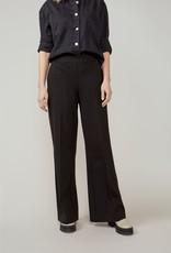 Summum Woman Trousers bootcut punto milano black 4s2197-11498 Summum