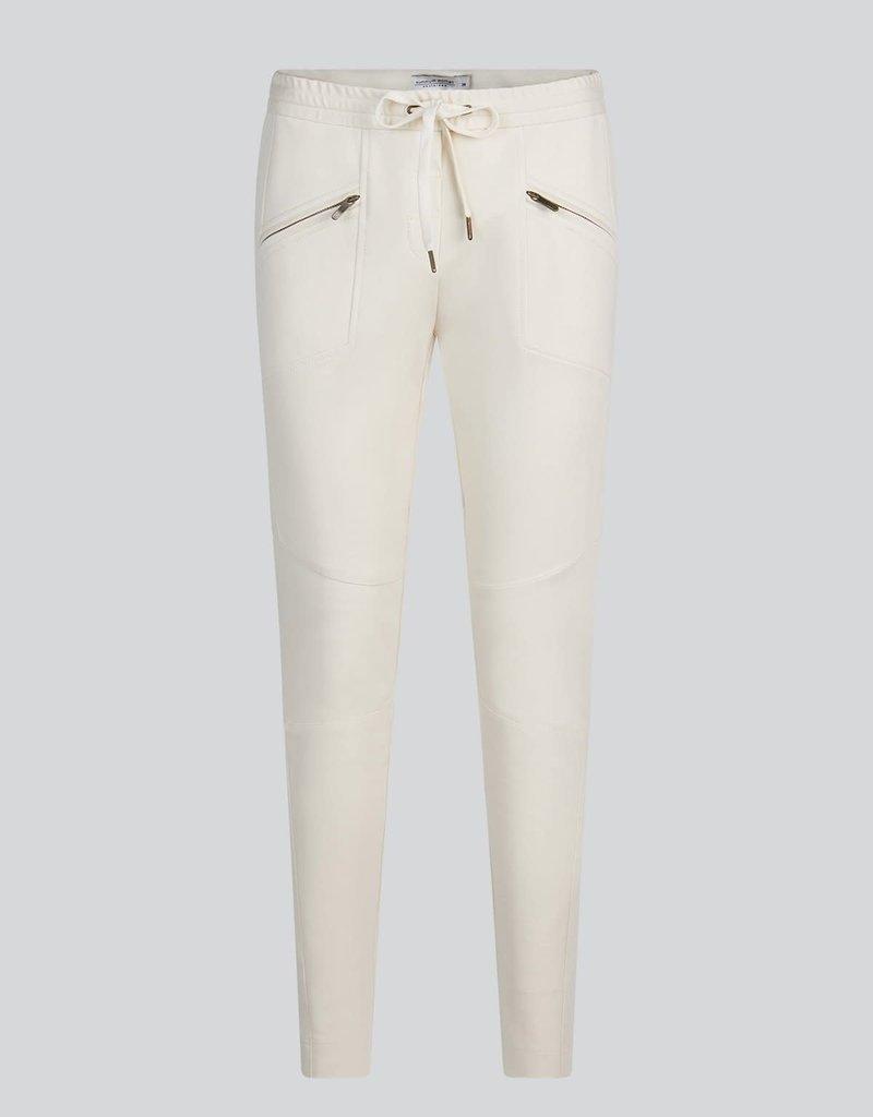 Summum Woman 4s2202-11498 Trousers punto milano Ivory Summum