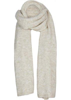 Summum Woman Scarf wool  knit ivoor 8s759-7839 Summum