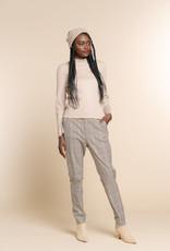 Geisha 11593-24 check pants high waist Zand Geisha