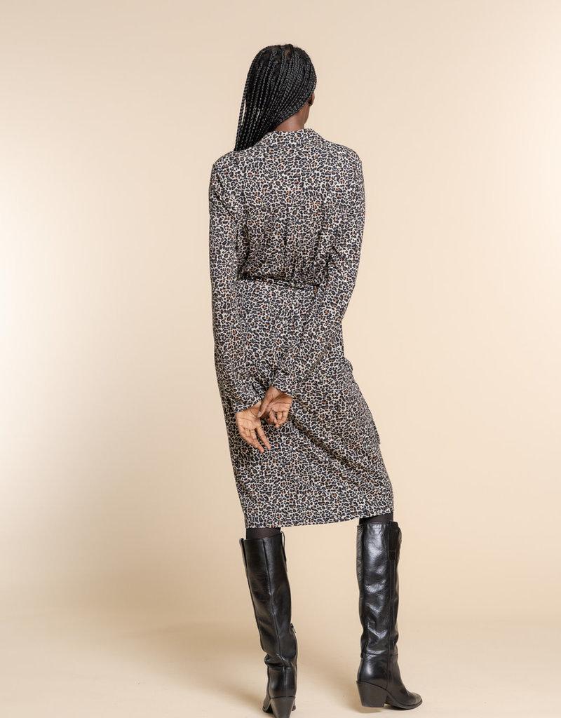 Geisha 17596-60 Dress AOP leopard print Geisha