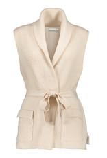 Geisha 14517-10 Vest belt sleeveless off-white Geisha
