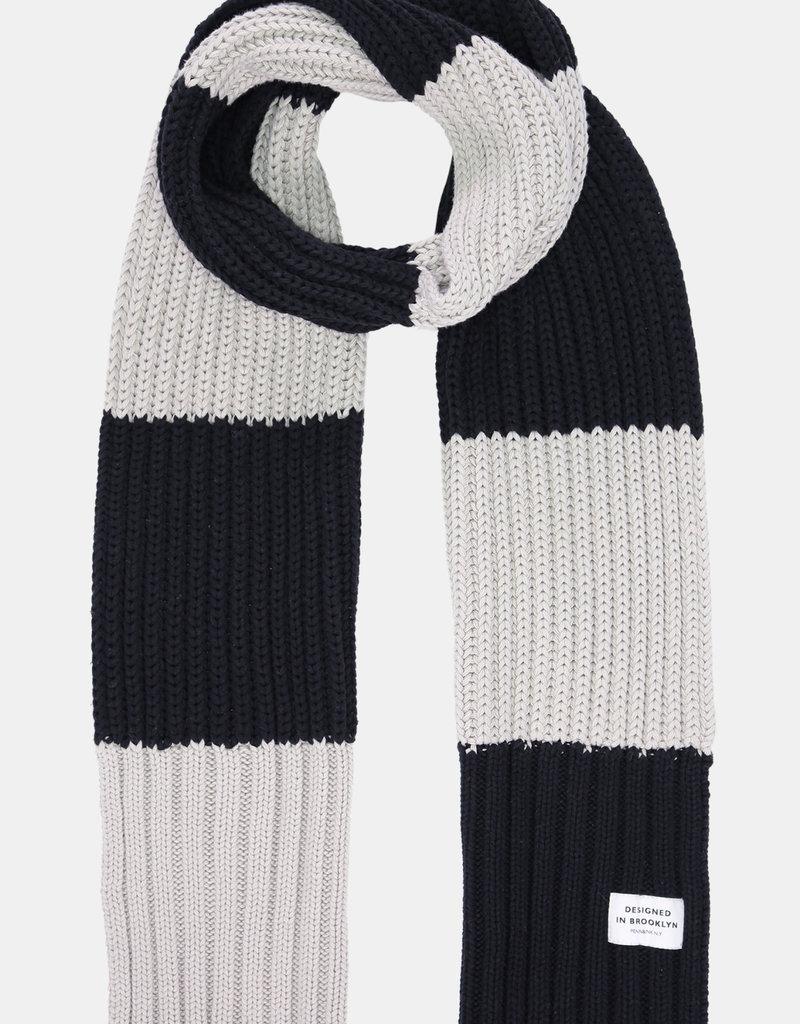 Penn&Ink N.Y W21D106 scarf Zwart Penn&Ink