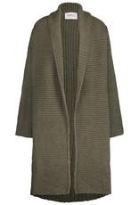 Simple Cardigan khaki 2521 Set Simple