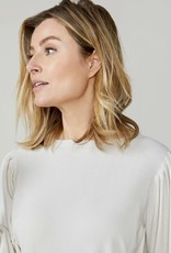 Summum Woman Puffy sleeve sweater ivory 7s5507-7830 Summum