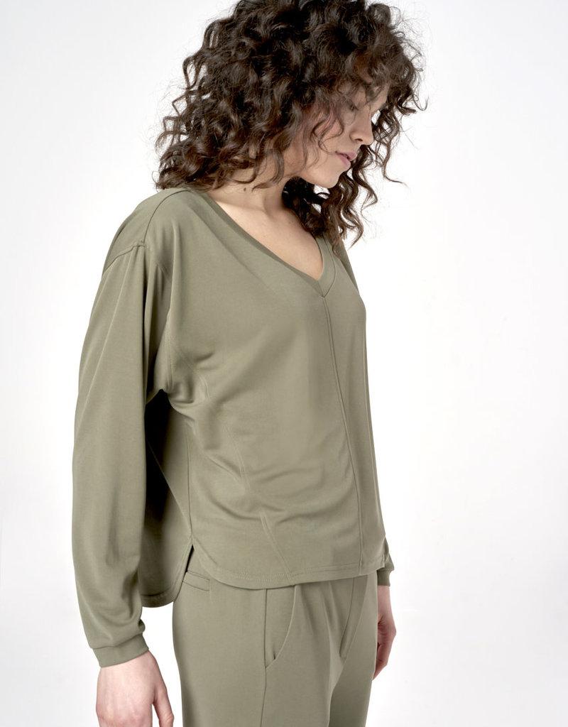 Simple Top Khaki 2524 Tamyra Simple