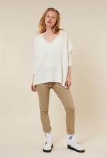 10Days loose v-neck sweater 20-603-1203 Ecru 10Days