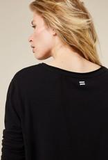 10Days 20-772-1203 round neck longsleeve zwart 10Days