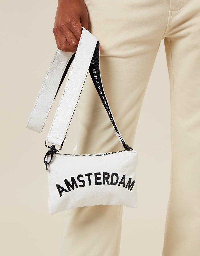 10Days mini pouch amsterdam white 20-952-1203 10Days