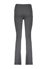Geisha 11566-40 Pants check flair zwart Geisha