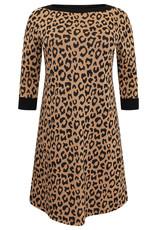 Yoek Dress jaquard LEOPARD 9507592 Yoek