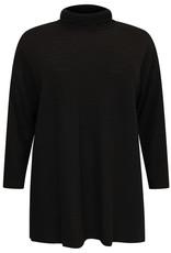 Yoek Pullover high neck RIB zwart 9522992 Yoek