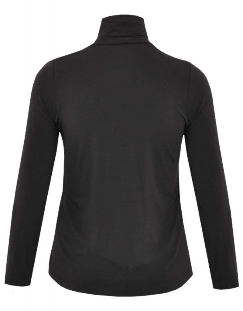 Yoek B4750 Yoek shirt Dolce zwart Maat 42/44