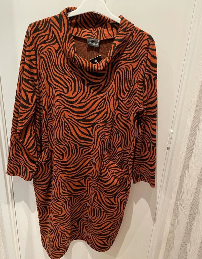 Ophilia Ophilia Mindy 21W dessin zebra brique