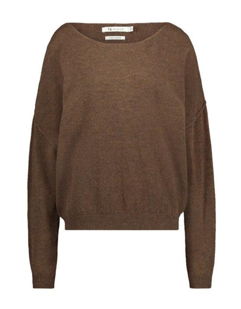 Nukus New York Sweater bruin FW2168311  Nukus