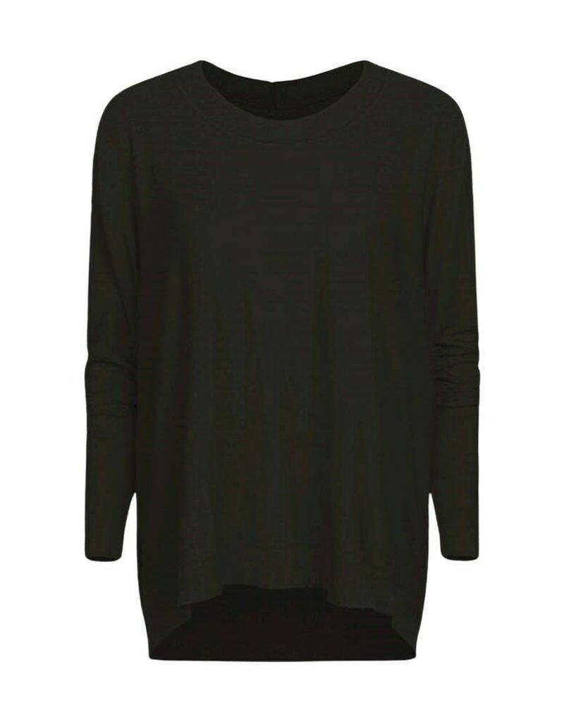 Summum Woman Oversized sweater 7s5599-7830 zwart Summum