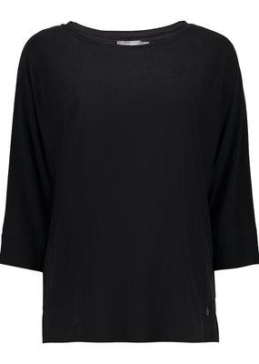 Geisha 12500-10 Top knit zwart Geisha