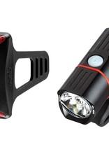 Guee Guee - SOL 300 headlight +COB-X Red light Set Black