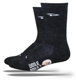 "Defeet Woolie Boolie 2 with 6"" Cuff in Charcoal"