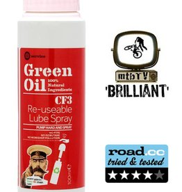 Green Oil CF3 Re-usable lube spray 100ml
