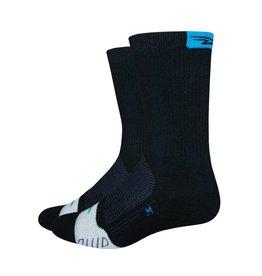 "De Feet Thermeator 6"" Black/Process Blue"