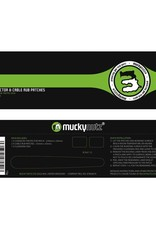 Mucky Nutz MUCKYNUTZ CABLE PATCHES CLR