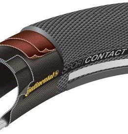CONTINENTAL SportContacT II 26x1.6 Black WIRE