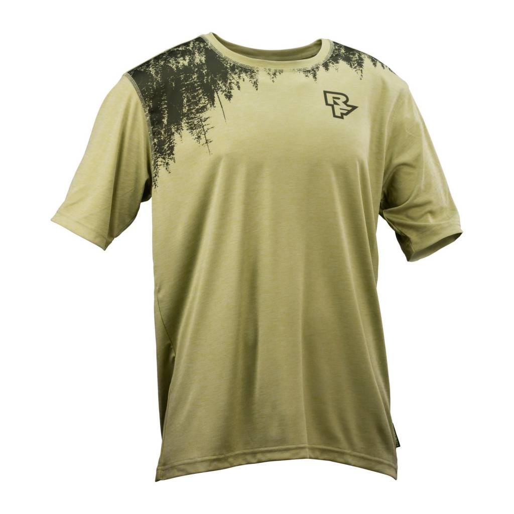 RACEFACE Trigger Jersey Short Sleeve Inversion - Moss