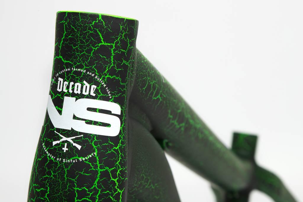 NS Bikes Decade Dirt/Jump Frame - Zombie Green