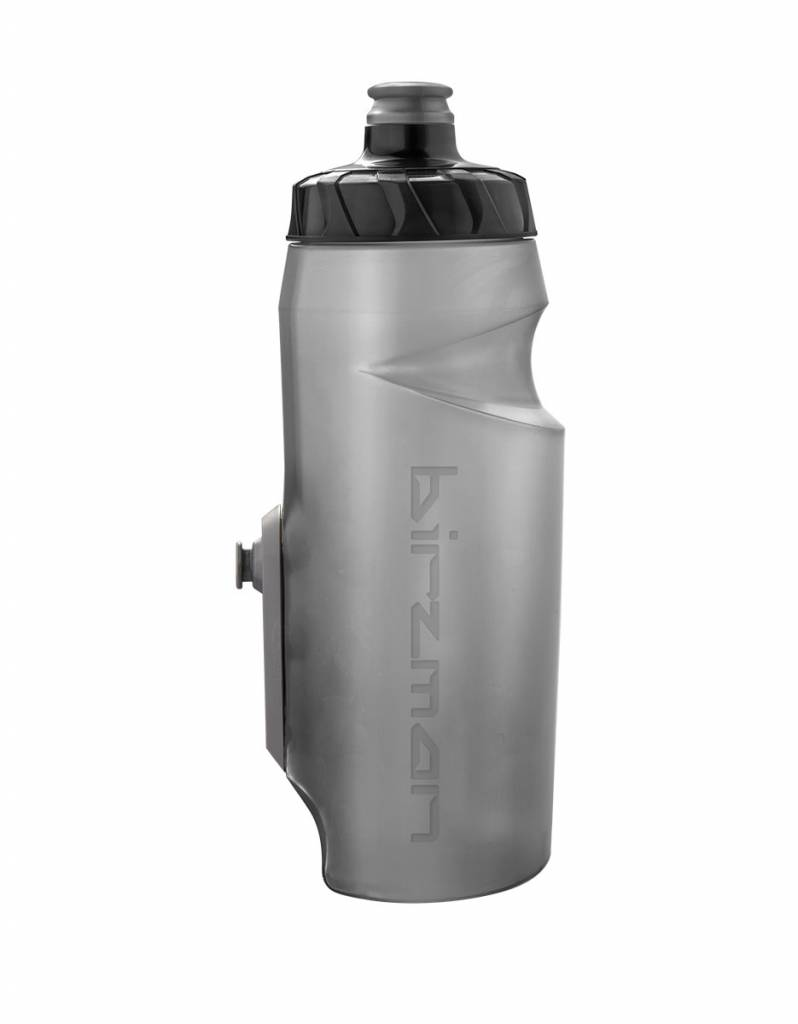 BIRZMAN Bottle Cleat with 650ml bottle (black)