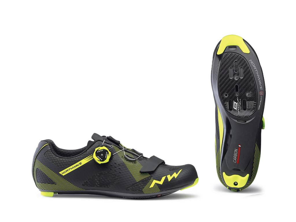 NORTHWAVE 2019 Storm Carbon Black/Yellow