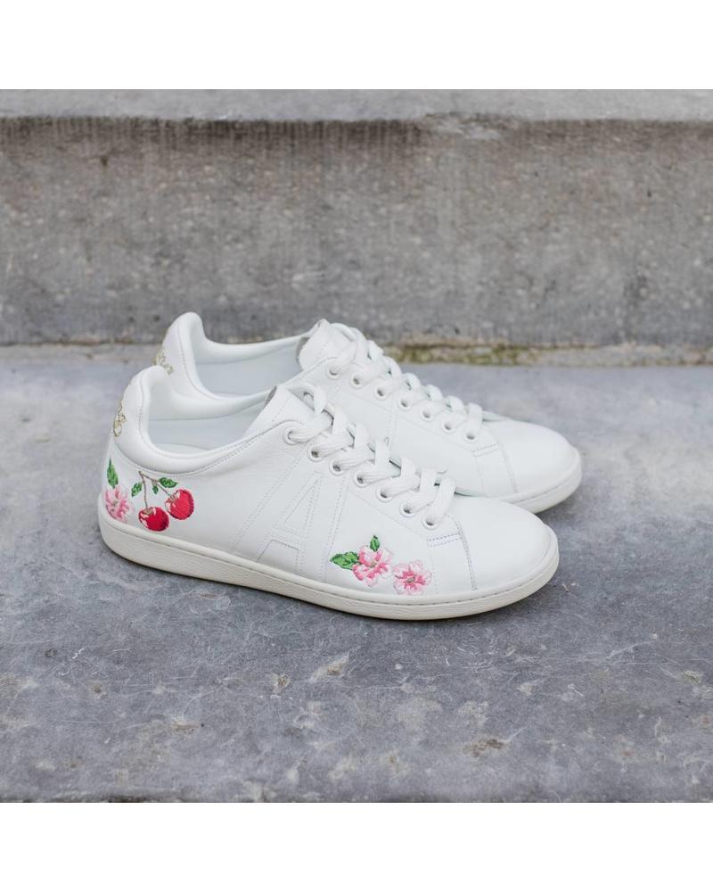 Anine Bing Lily sneaker - Cherry