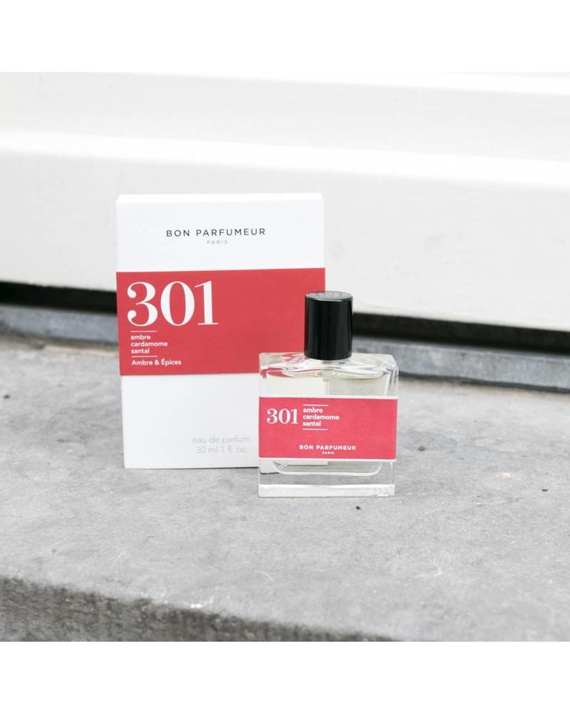 Bon Parfumeur 301 sandalwood, amber, cardamom