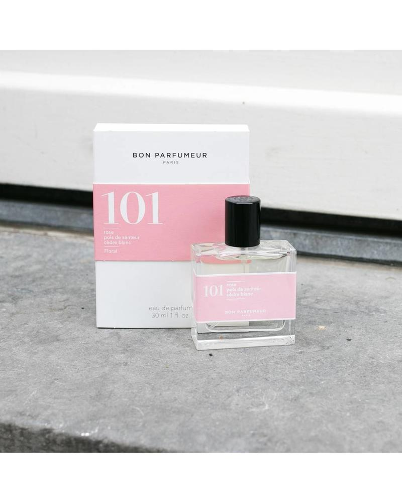 Bon Parfumeur 101 rose, sweet pea, patchouli