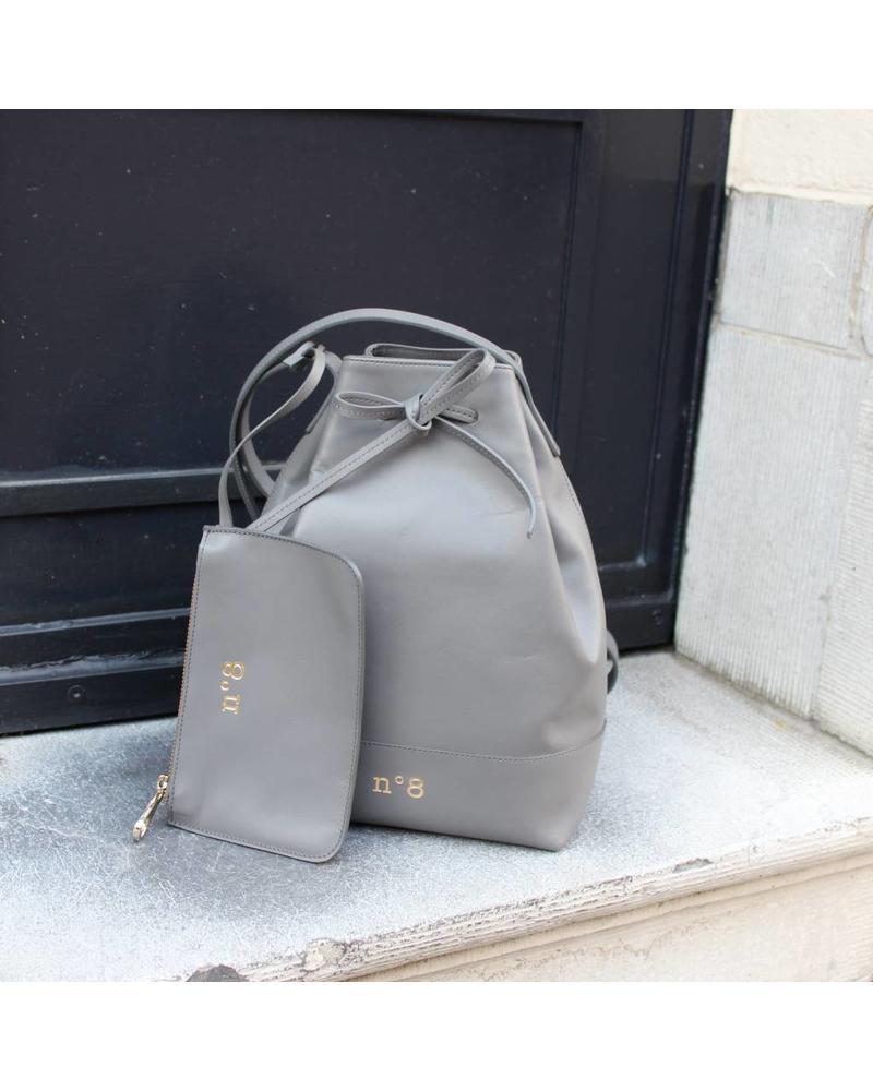 N°8 Antwerp Bucket bag - Souris
