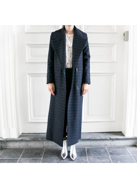 StudioRuig Coat Celine - Chalk Blue