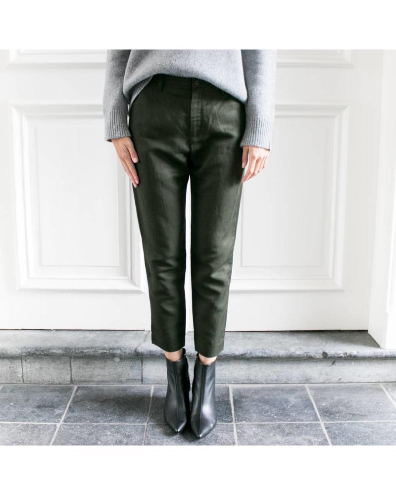Hope Krissy trousers - Khaki green