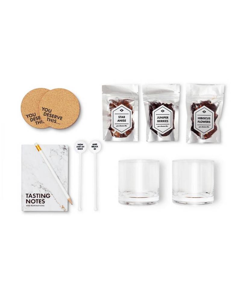 Men's Society Gin Lover - Accessory & Tasting Kit