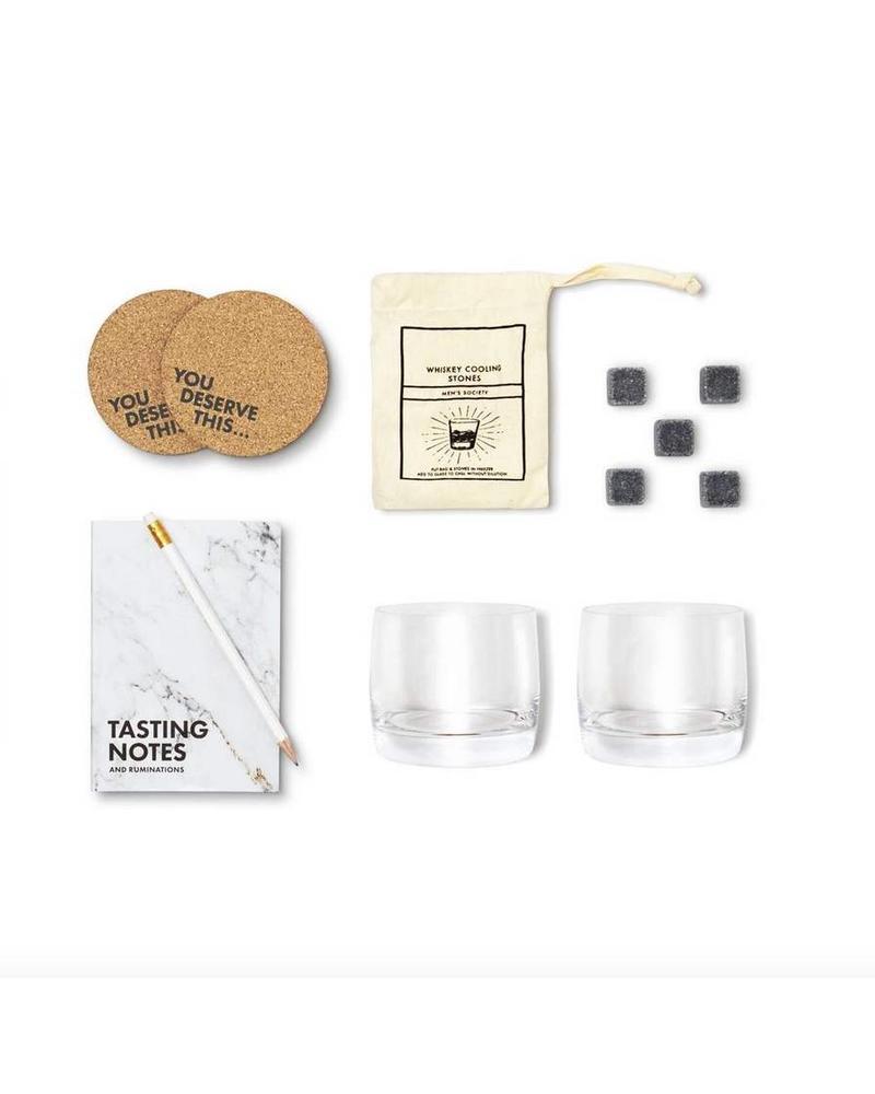 Men's Society Whiskey Lover - Accessory & Tasting Kit