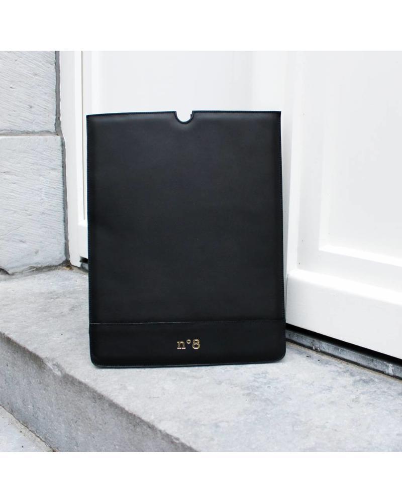 N°8 Antwerp Laptop sleeve - Negro