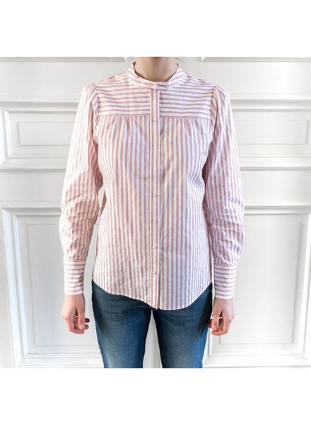 SET Striped blouse - Red