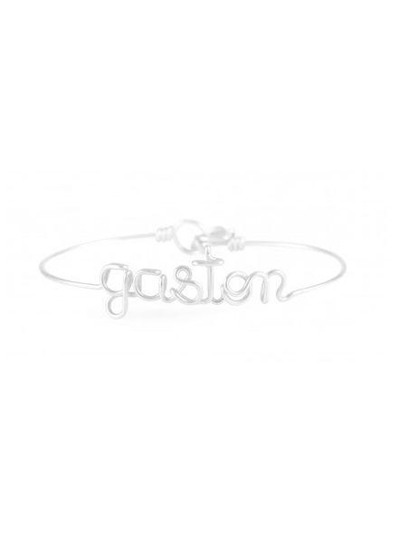 Atelier Paulin Personalised bracelet 1-5 letters - Argentinum 935