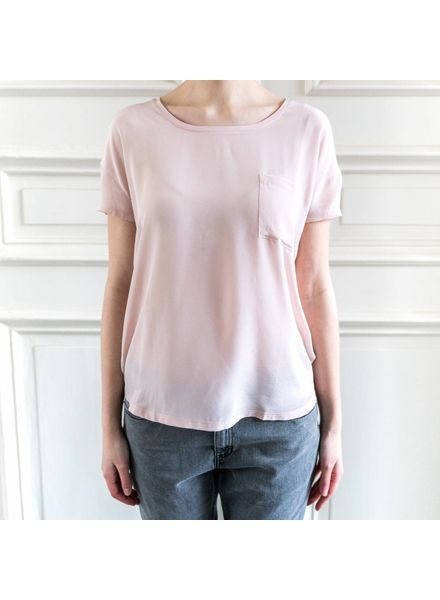 SET Silk T-shirt - Sepia rose