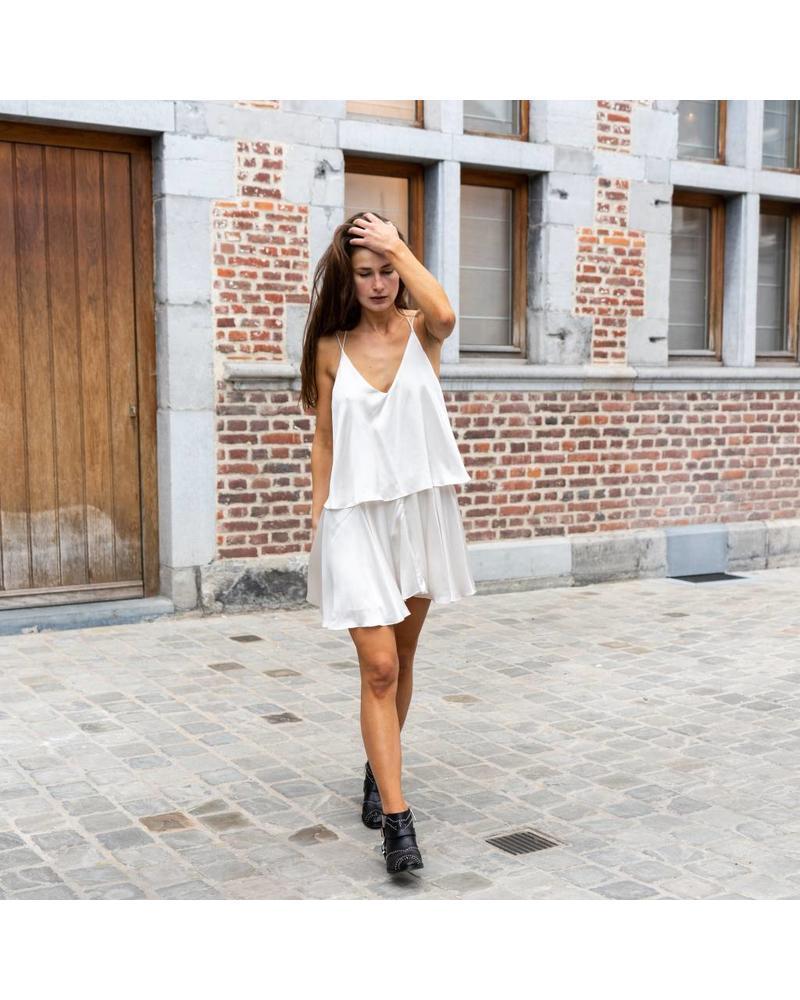 Magali Pascal Voyage dress - Dusty White