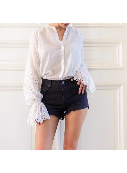 Magali Pascal Camelia shirt - Dusty White