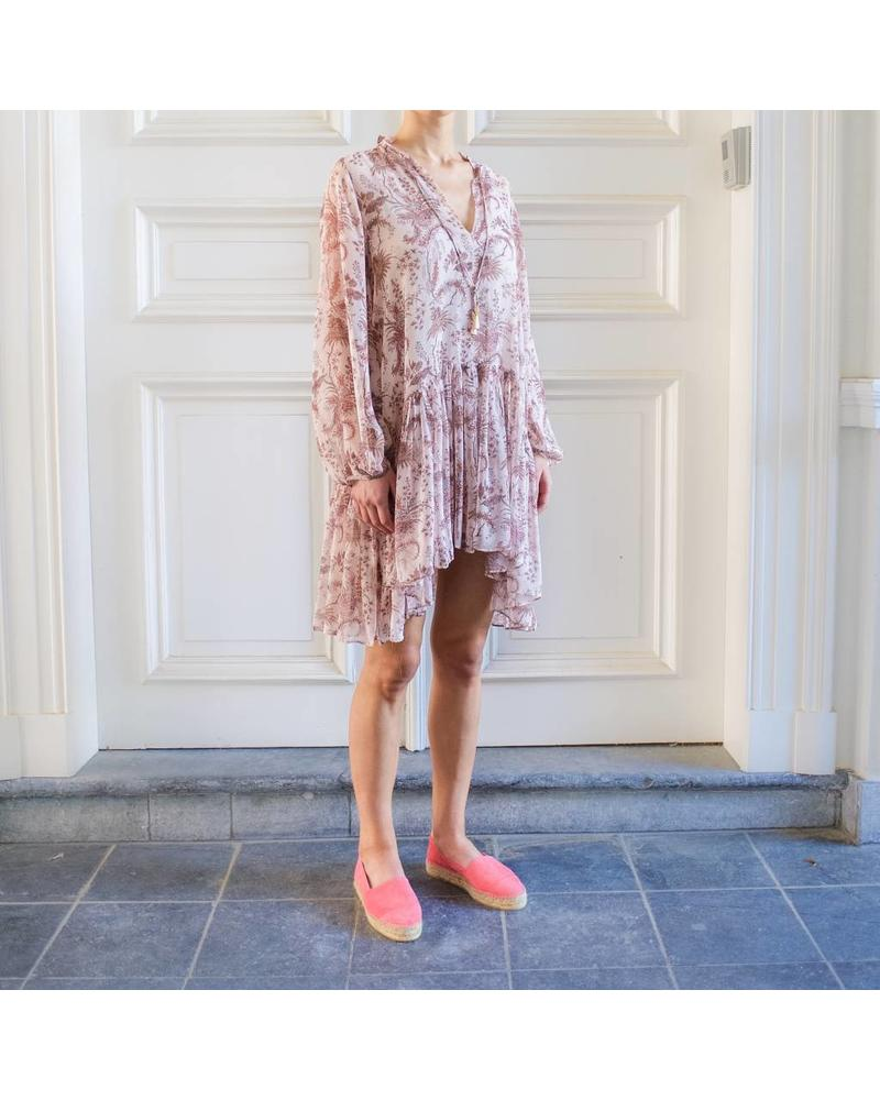 Magali Pascal Opium shirt dress - Nude Valence