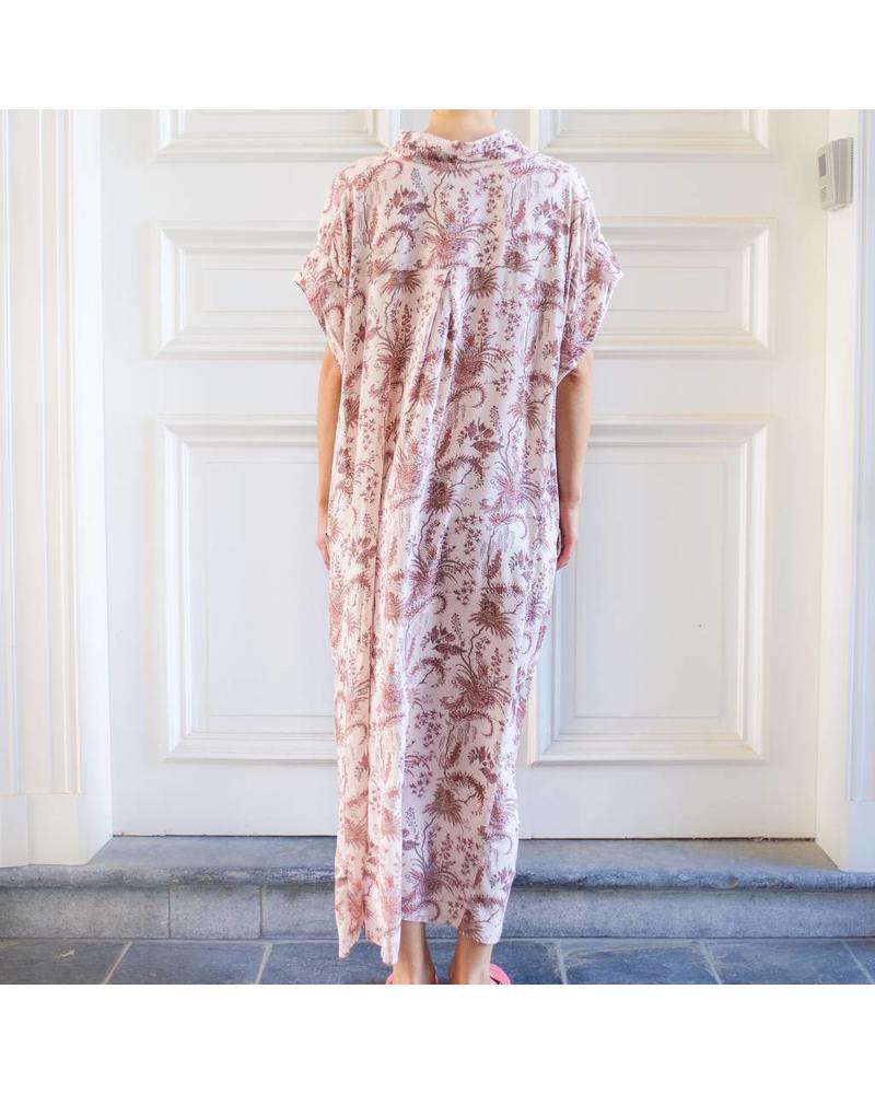 Magali Pascal Lexa wrap dress - Nude Valence
