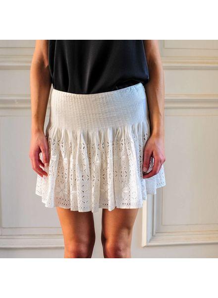Magali Pascal Mallorca skirt - Dusty White